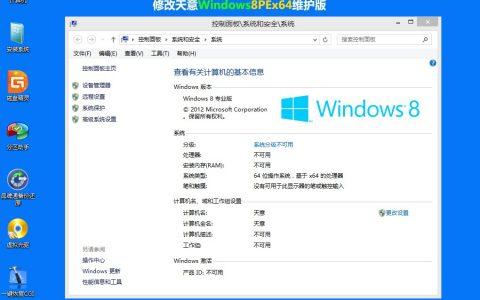 天意Windows8PEx64修改版(仅157M)